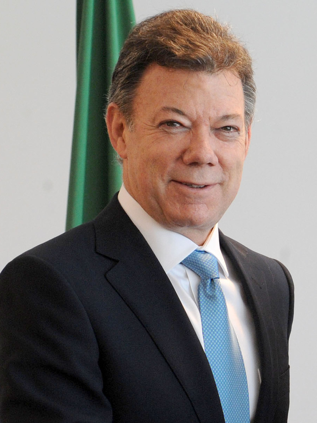 Photo of Juan Manuel Santos, president of Columbia since 2010 and 2016 Nobel Peace Prize winner.