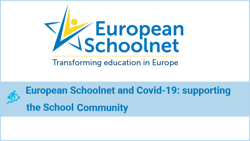 European Schoolnet's logo and the title of the article: